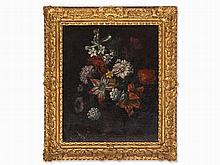 Jean Baptiste Bosschaert, Circle of, Flowers in a Vase, 18th C