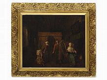 Jan J. Horemans (1714-1790), attrib., The Doctor Visit, 18th C