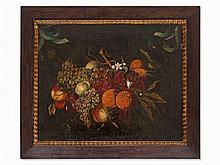 Jacob Marrel (1614-1681), A Swag of Fruits and Flowers, 17th C