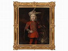Austrian School, Portrait of a Noble Boy, 17th Century