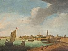 Reinier Zeeman, Circle of, View of Amsterdam, 17th C
