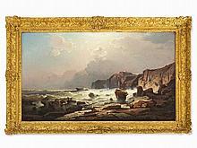 Franz R. Unterberger (1838-1902), Coastal Landscape, c. 1860