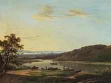 Marinus A. Koekkoek I (1807-1868/70), River Landscape, c. 1850