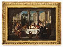 Adolf Wichmann (1820-1866), Wedding Feast, presumably 1850/60s