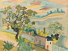 Hermann Hesse (1877-1962), Southern Landscape, 1926