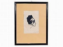 Emil Nolde (1867-1956), Profil I, Lithograph, 1911