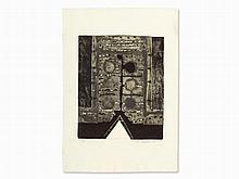 Michael Sandle, Aquatint, Abstract Composition, 1961