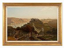 Christian Eduard Boettcher, The Rhineland near St. Goar, 1882