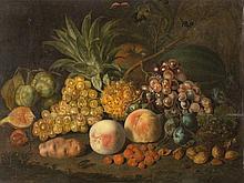 Johann Daniel Bager (1734-1815), Still Life with Fruit, 1810