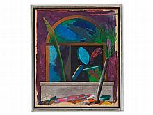 Peter Atanasov (1949), Acrylic Painting, 'Italian Autumn', 1982