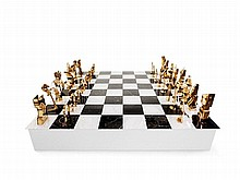 Arman & George Boisgontier, Chess Game 'Double Gambit', 1986