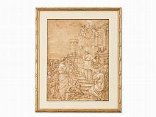 Giovanni Morandi (1622-1717), Attr., Francis de Sales, 17th C.