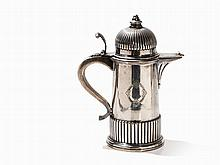 A Lidded Silver-Jug with Gadrooning, Italy, 1872-1933