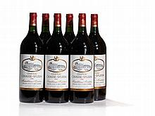 6 Magnum bottles 1990 Château Chasse-Spleen, Moulis