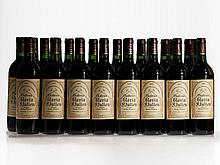 24 bottles 1995 Château Gloria in 2 original wooden cases