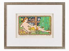 James Rizzi, La Grande Odalisque, 3D-Work, 1998