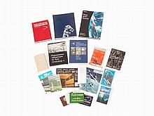Collection of Space Books, Booklets & Poster, Russia, 1961-93