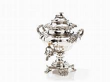 Large Silver Tea Urn, Gustav Möllenborg, Stockholm, 1843