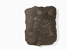 A Fossil Shale Slab with Ammonite and Clockwork, Jurassic