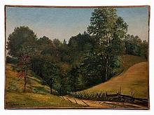 Carl Köster (1812-1893), Tyrolean Autumn Landscape, Oil, 1839