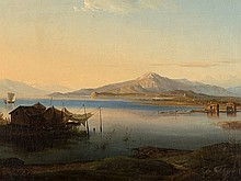 Nikanor Grigorevic Tschernezoff, 'View over the Volga', c. 1838