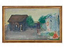 Oluf Høst (1884-1966), 'Bognemark Gudhjem Bornholm', 1940/50s