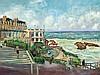 Lucien Adrion (1889-1953), 'Promenade in Biarritz', 1925
