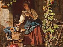 Jules de Ruinart Brinant (1838-1898), The Letter, 1861