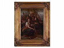 History Painting, 'Babylonian Captivity', Mid-19th century