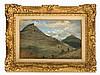 Rosa Bonheur (1822-1899), Oil Study of the Montségur, c. 1850
