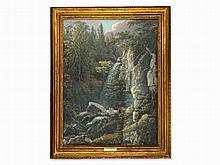 Joseph Anton Koch, Circle of, Mountain Walker, 19th Century