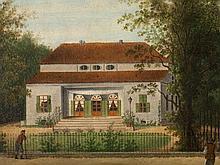 Johann Eusebius A. Forst (1783-1866), 'At the Tiergarten', 1821