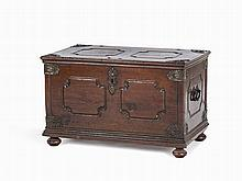 Iron-Banded Oak Chest, circa 1700