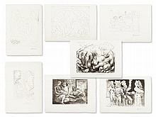 After Pablo Picasso, 7 Lithographs, Suite Vollard, 1990