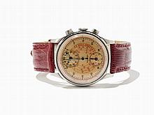 Early Gallet Telemeter Chronograph, Switzerland, Around 1940