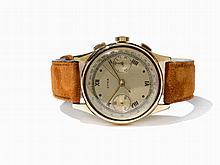 Cyma Gold Chronograph, Switzerland, Around 1955