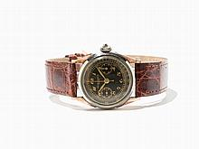 Early Record Watch Co. Single Button Chronograph, Around 1920