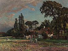 Viggo Pedersen(1854-1926), Haga, Oil, c. 1910/20