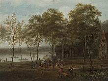 Johann Christian Vollerdt (b. 1708-1769), River Landscape, 175