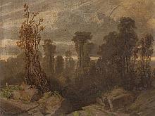 Heinrich von Reder (1824-1909), Landscape, 19th Century