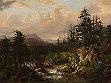 Heinrich Vianden (1814-1899), Romantic Forest, Oil, 19th C.
