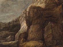 Allart van Everdingen, Attributed, Norwegian Landscape, 17th C.