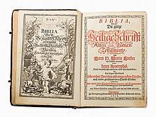 Andreä Endters seel. Son & Heirs, Biblia, Nuremberg, 1717