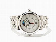 Gerald Genta Night & Day Wristwatch, Ref. G.3706, Around 2000