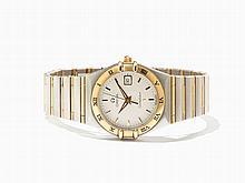 Omega Constellation Women's Watch, Ref. 12823000, Around 1990