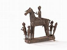 Kondh Figural Group, Orissa, Mid 19th/Early 20th C.
