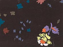 Raoul Dufy, Oiseaux Sur Fond Brun, Gouache, c. 1925