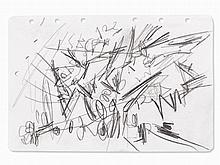 Emilio Vedova (1919-2006), Composition II, Drawing, 1962