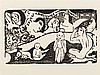 Paul Gauguin, Soyez Amoureuses, Woodcut, 1898, Paul Gauguin, €700