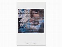 Gerhard Richter, Signed Poster, Hamburger Kunsthalle, 1995